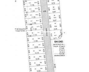 Cần bán lô đất HXH 730 Lạc Long Quân, Tân Bình - DT: 60m2 - 0904714006