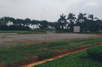 Cho thuê 3,1 ha đất mặt đường lớn tại Long Biên gần AEON làm bãi xe, máy công trình, bãi vật tư