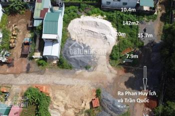 Bán lô góc 2 mặt tiền, ngang 7m, nở hậu, 142m2 thổ cư toàn bộ ngay trung tâm phường B'Lao, Bảo Lộc