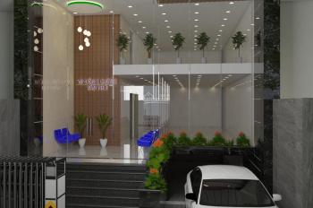Cho thuê toà nhà vị trí trung tâm Quận Tân Phú (8mx18m) 1 hầm 6 lầu, mới xây 100%. LH 0906170902