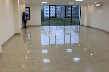 Cần cho thuê văn phòng 125m2 mặt phố số 38 phố Dịch Vọng Hậu - Cầu Giấy, Hà Nội. Giá 23 triệu/sàn