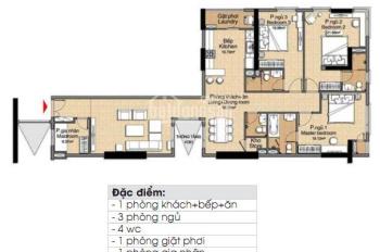 Bán căn hộ Đức Khải, 3PN, 161m2, full nội thất, giá 2tỷ5 (thương lượng), LH 0916887727