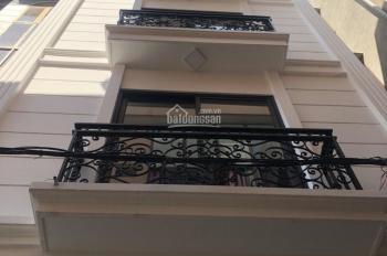 Chính chủ bán nhà xây mới 5 tầng - 50m2 - mt 4m tại ngõ 209 Đội Cấn, Ba Đình, giá siêu rẻ 4,95 tỷ