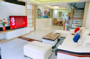 Bán nhà vip xây mới vừa ở vừa kinh doanh full nội thất 1 trệt 4 lầu 4,5x18m đường 20m KDC Tân Tạo