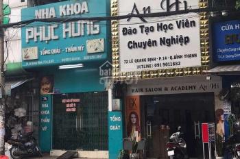 Thuê cho, MT Lê Quang Định, gần chợ Bà Chiểu 1T2L, 4x18m, giá 35tr. 0902718475