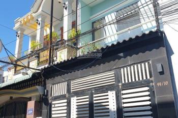 Bán nhà lầu đẹp 3 phòng ngủ có sân oto 7 chỗ ở P. Đông Hoà trung tâm TP Dĩ An giá đang cần tiền