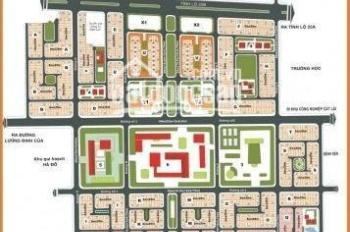 Bán đất đường 20m dự án Huy Hoàng, ngay trung tâm Q2, góc 2MT, DT: 10x21,5m giá 185tr/m2 sổ đỏ