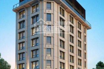 Bán tòa nhà 10 tầng mặt phố khu Duy Tân, Trần Thái Tông 700m2, MT 45m lô góc 250 tỷ thương lượng