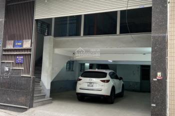Cho thuê nhà ngõ Phạm Ngọc Thạch 110m2 x 6 tầng có thang máy, sàn thông có hầm để xe giá 60 tr/th