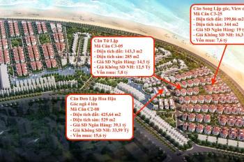 Chỉ hơn 4 tỷ sở hữu biệt thự mặt biển Hạ Long Sun Grand City Feria - độc quyền đẹp nhất dự án để ở