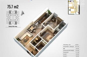 Cần tiền bán gấp chung cư The Pride - Với các diện tích sau, căn hộ 2 - 3 pn - LH: 0973.564.661