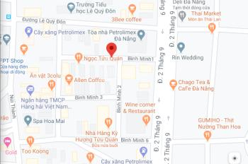 Bán 2 lô liền kề mặt tiền Bình Minh 1 vị trí gần đường 2/9. LH: 0908121812