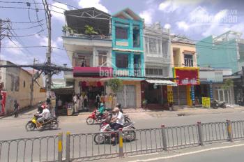 Nhà mặt tiền Hòa Bình, Tân Phú sát ngã tư cần cho thuê, DT 4x15m, nhà mới trống suốt, vỉa hè rộng