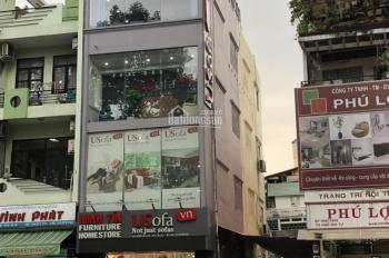 Bán nhà góc 2 mặt tiền đường Lê Văn Sỹ, Quận 3. DT 4.5x12m, 1 trệt, 4 lầu mới, thang máy