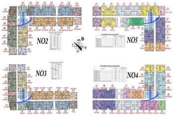 0963777502 cần bán căn chung cư Ecohome 3 Đông Ngạc căn góc 3PN, số 23 - N03, DT 77m2, giá 1,35 tỷ
