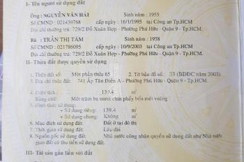 Bán nhà mặt tiền Nguyễn Duy Trinh giá Covid