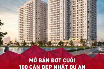 Chính thức mở bán 100 căn hộ đẹp nhất dự án Ruby City CT3 - CK 10% - tặng phí DV - nhà ở ngay