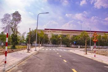 Bán đất sổ hồng riêng từng nền MT QL 50, giáp Bình Chánh