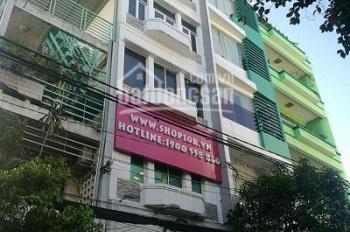 Bán nhà MT Hoàng Sa, phường 9, quận 3, giá bán: 30 tỷ. Diện tích: 130 m2, KC: 4 lầu góc 3 MT