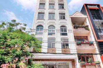 Bán nhà MT Trương Định, phường 9, quận 3, giá bán: 150 tỷ. Diện tích: 228 m2, KC: Hầm + 6 Lầu