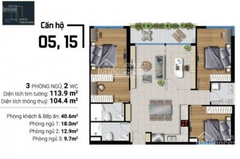 Cần chuyển nhượng lại nhiều căn giá tốt căn hộ River Panorama,Q7, 1,93ty 2PN,0916941157
