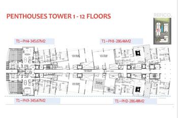 The River Thủ Thiêm GĐ1 mở bán 24 căn penthouse - Pool Villas siêu vip