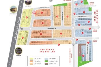 Bán đất sổ đỏ DA Lộc Phát Residence, Mặt tiền đường 22 tháng 12, Lô A2.25, DT63,5m2,