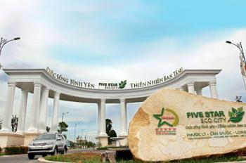 Bán lỗ lô đất Five Star Eco City (KDC 5 sao) Phước Lý, giá 15,7tr/m2. LH 0941.618.879