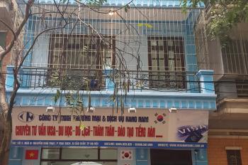 Bán nhà 5 tầng phân lô Nguyễn Khả Trạc, DT 65m2, MT 6,5m, hướng Tây, đường 10m.(chính chủ)