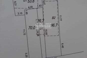 Bán nhà 2 tầng Thạch Bàn, sổ đỏ chính chủ, có thể cắt nhỏ mảnh nếu khách hàng có nhu cầu