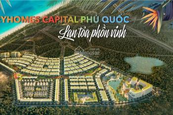 Bán shophouse Meyhomes Capital Phú Quốc đã có sổ hồng SHVV 3 lầu (6x20m) tiện KD mọi ngành nghề