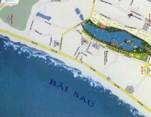 Bán đất biệt thự vị trí trung tâm Tp Vũng Tàu, 2 MT Võ Thị Sáu, view hồ Bàu Sen. LH 0944333968