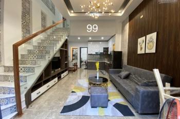 Nhà 3 tầng full nội thất kiệt 4m Trần Cao Vân thông Nguyễn Tất Thành nhà đẹp xuất sắc