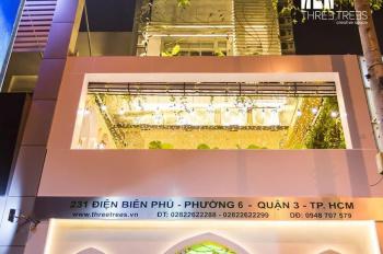 Chính chủ cần cho thuê gấp tòa nhà 5 tầng - Mặt tiền Điện Biên Phủ Q3. LH  0938289231