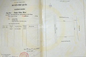 Bán đất Rạch Hàm, Hàm Ninh, Phú Quốc