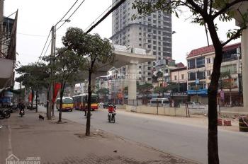 Bán lô đất 350m2 căn góc 2 mặt ngõ đầu phố Trần Duy Hưng sổ đỏ lâu dài, tiện xây văn phòng, CCMN