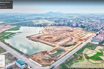 Bán lô đất dự án TNR Star Bích Động, Việt Yên, 75m2 - giá 14,3-16tr/m2