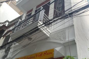 Cho thuê nhà ngõ 156 Nguyễn Đổng Chi, DT 43m2 x 4 tầng, giá 12tr/tháng