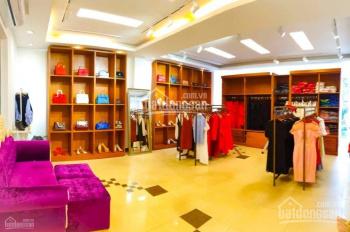 Cho thuê nhà mặt phố Trần Phú, Ba Đình DT 200m2 x 2 tầng MT 10m 2 mặt tiền giá 160tr/th, 0928872222