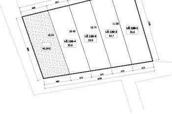 Bán đất La Phù 35m2, gần khu D Lê Trọng Tấn, giá 27tr/m2. LH 0989441266