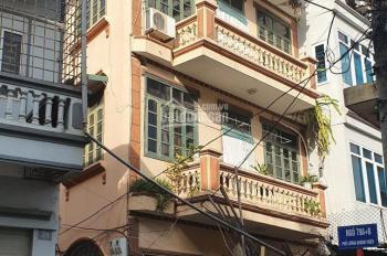 Vị trí, vị trí và vị trí, số 2 ngõ 79 Lương Khánh Thiện. Lô góc 2 mặt, DT 57m2 x 5 tầng, MT 7m