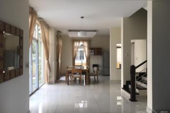 Cho thuê biệt thự song lập khu Cảnh Đồi Phú Mỹ Hưng, mặt tiền đường lớn, DT 10.5x22m 45 triệu/tháng