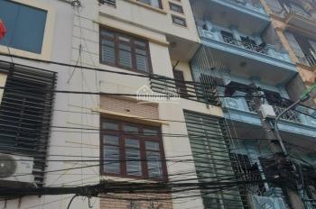Cho thuê nhà ngõ 77 phố Nguyễn Thị Định, DT 65m2 x 5 tầng, tầng 1,2 thông, tầng 3,4,5 chia 2 phòng