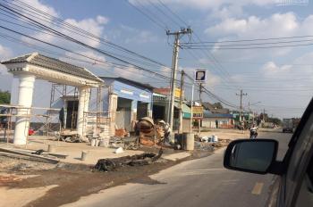 Bán đất tặng nhà MT đường HL612 DT 9x70m, có sổ, thổ cư ở xã Hưng Hòa, huyện Bàu Bàng