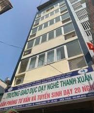 Cho thuê nhà mới xây sạch sẽ  hoàng ngân 77m x 8T thang máy , ngõ ô tô tránh