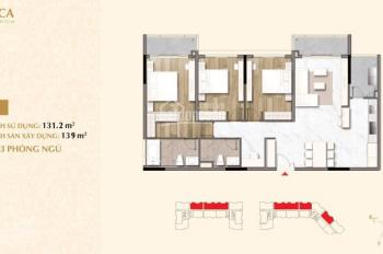 Cần tiền bán gấp căn hộ 3PN tại Sarica Sala Quận 2 giá 15.7 tỷ, view công viên - 0909 5533 19