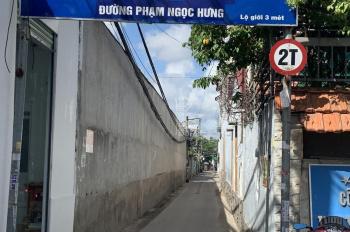 Bán nhà 1 trệt, 1 lầu lửng sau lưng Mobifone Võ Văn Kiệt, DT: 6m x 9m, 54m2, giá 990 triệu