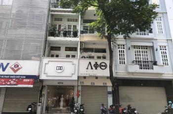 Cho thuê mặt tiền đường Nguyễn Thiện Thuật, Q3, trệt + 3 lầu, DT 4x12m