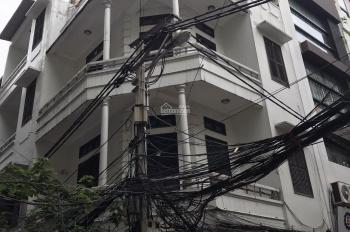 Nhà căn góc 2 mặt Thái Hà DT 50m2x4T MT 10m nhà 2 mặt tiền ô tô đỗ cửa giá 18tr/th LH 0968063506