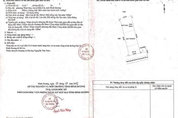 Cần bán lô đất vip mặt tiền QL13 đi Hố Le thuộc phường Thới Hoà, Bến Cát, BD